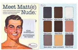 Meet Matt(e) Nude Palette, The Balm