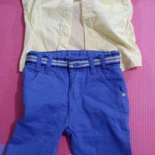 Set preloved clothes