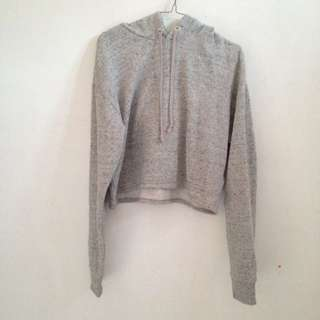H&M Divided Cropped Hoodie Basic