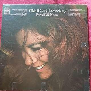 Vikki Carr's love story--piringan hitam