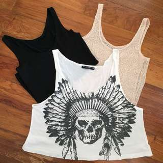 Tank Top and Crop Top