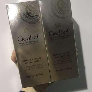 🚚 韓國Cledbel黃金膠原蛋白緊緻面膜 70ml 兩入