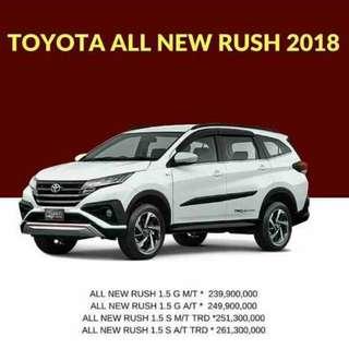 Promo toyota new rush