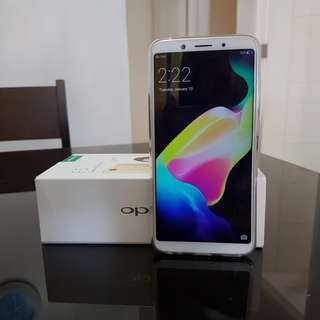 Oppo F5 Gold 2months old Complete