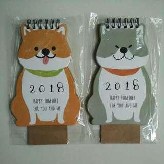 #idotrades BN Doggie Calendar / Organizer
