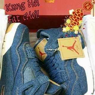 Air Jordan 4 x Levi's