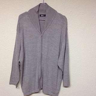 Unisex Zip-down Cardigan / Sweater