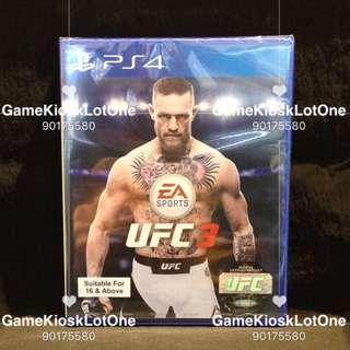 PS4 UFC 3/ UFC3 (R3)