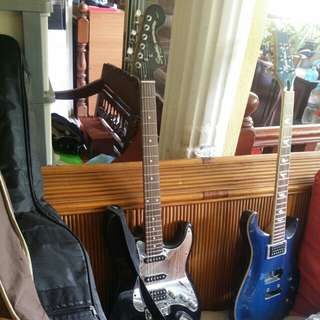 SQUIER SPECIAL EDITION STANDARD FAT STRATOCASTER ELECTRIC GUITAR, BLACK MIRROR