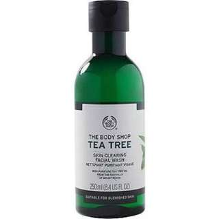 The Body Shop Teatree Oil Facial Wash