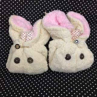 女裝/女童 可愛兔仔型毛絨帽 🎩👒