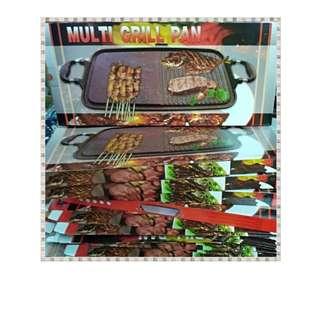 Pemanggang Daging Anti Lengket - Multi Grill Pan / Griller