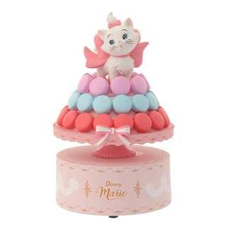 日本 Disney Store 直送 Marie 富貴貓 Cat Day 2018 系列 Figure 音樂盒擺設