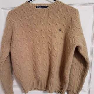 Ralph Lauren Polo 女裝100%羊毛冷衫