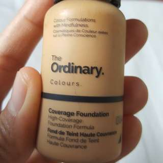 The Ordinary High Coverage Foundation