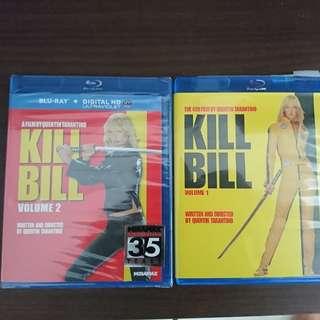 Blu Ray Movies Kill Bill vol.1 and 2