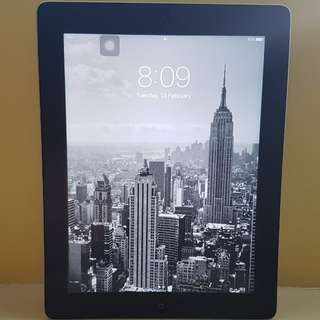 iPad 4th Gen. 16gb. Wi fi only
