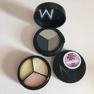 BN Make up store tri brow colour and cover all mix