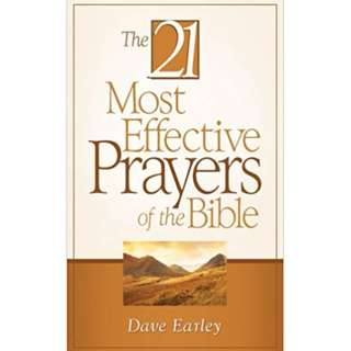 Free! 21 Most Effective Prayers of The Bible