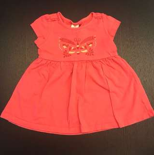 (P) Tiny Button Baby dress