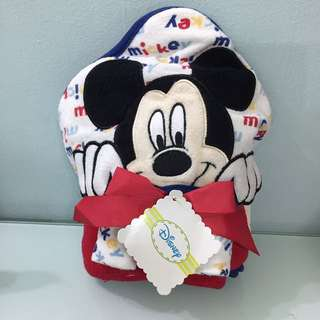 *Brand New!* Mickey Hooded Towel for the Funky Little One!