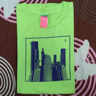 T-SHIRT RSCH STABILLO GREEN