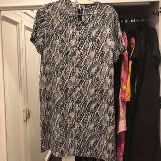 Mango Basic Sack Dress size XL