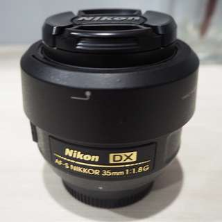 Nikkor 35mm f1.8 - Good Condition