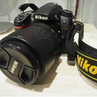 GOOD CONDITION-Nikon D7000 18-105MM + MB-D11 battery grip (Free Kata Bag + Tripod worth RM300) all original