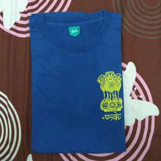 T-SHIRT RSCH ROYAL BLUE