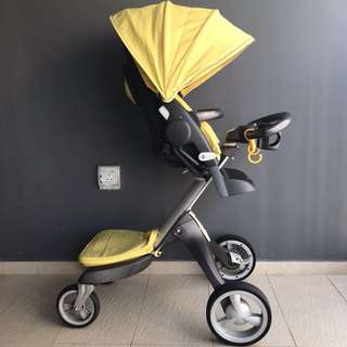 Stokke Xplory V2 (Limited Edition Yellow)