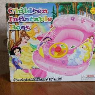 Children Inflatable Boat (Ban Renang Bayi)