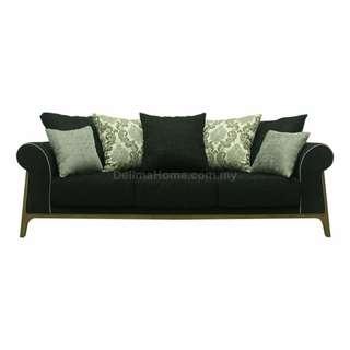 Danilo 3 Seater Sofa, Fabric