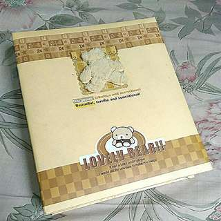 Teddy Bear Photo Album