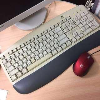 Logitech 鍵盤 keyboards
