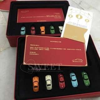 Porsche mini car collection
