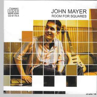 MY CD - JOHN MAYER - ROOM FOR SQUARES //FREE DELIVERY BY SINGPOST
