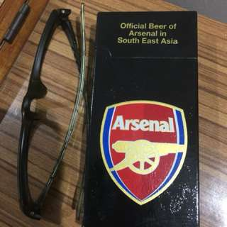 Arsenal / Tiger lighters- with refill port