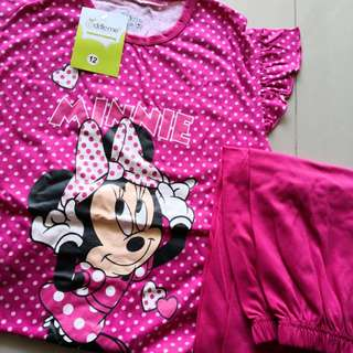 BN Minnie Mouse PJ Set (for 9-10Y)
