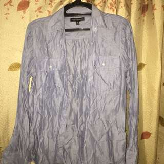 Button Down Pale Blue Shirt