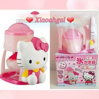 **RESERVE**🔴50% OFF➡️ MY FOLLOWERS ONLY!🔴🐰JAPAN SANRIO ORIGINAL - AUTHENTIC BRAND NEW SEALED IN BOX (Clean)🐰HELLO KITTY Dessert Ice shredder maker (Chandol/Bobo chacha/Ice kachang etc)💋See description=better deals!💋 No Pet No smoker clean Hse