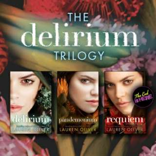 eBook - Delirium Trilogy by Lauren Oliver (3 Books)
