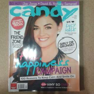 Candy Magazone August 2012