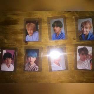 BTS Love Yourself O Photocards
