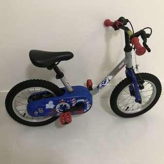 Decathlon boy's bicycle 14''