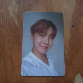 (Free Postage) BTS JHOPE LOVE YOURSELF L VERSION PC