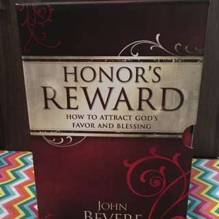 Charity Sale! Honor's Reward Set by John Bevere