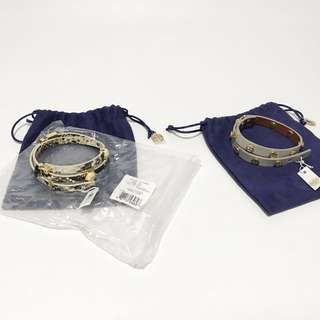 Tory burch bracellet AUTHENTIC.  BUY BOTH CHEAPER ONLY IDR 2,650,000 , discount 200rb+Ongkir included