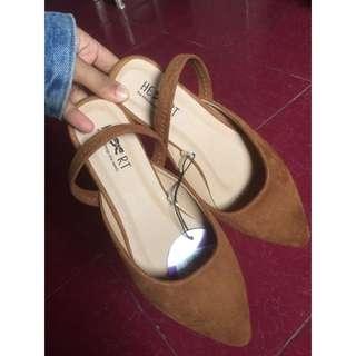 Flatshoes littlethings brown