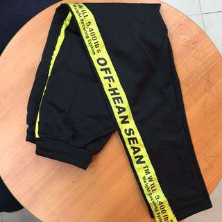 Off white ispired pants